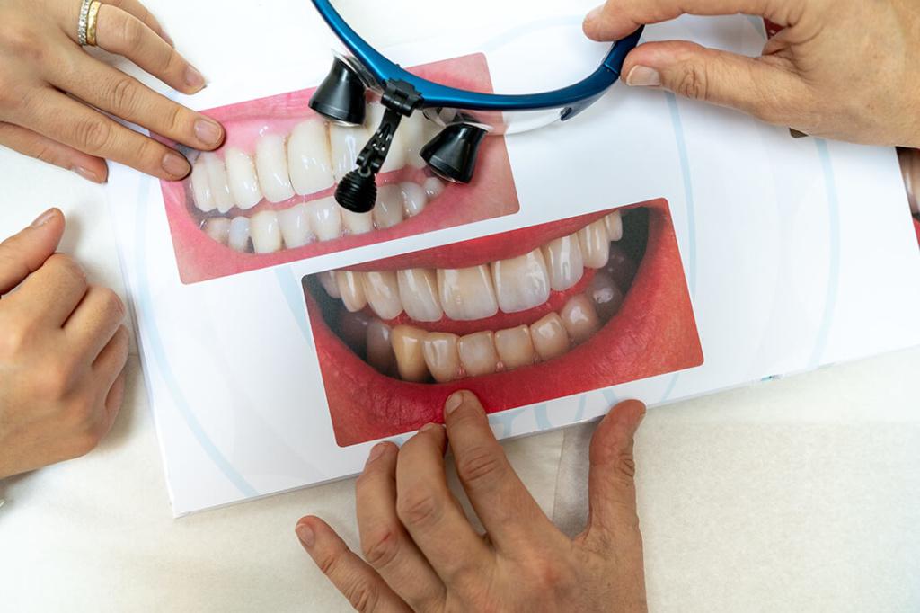 Zahnärztinnen Duisburg-Nord - Kuchenbecker-Bohnen, Mai Dinh - Leistungen - Ästhetischer Zahnersatz