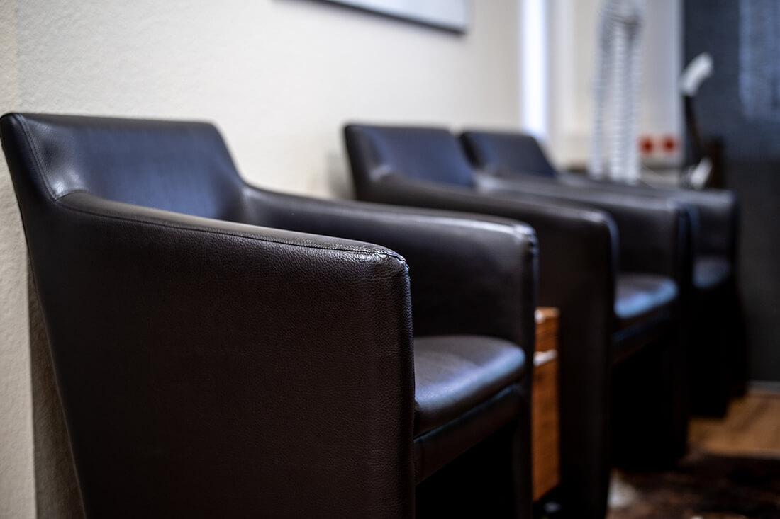 Zahnärztinnen Duisburg-Nord - Kuchenbecker-Bohnen, Mai Dinh - Wartebereich der Praxis